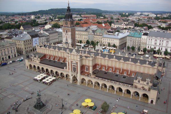центр Кракова